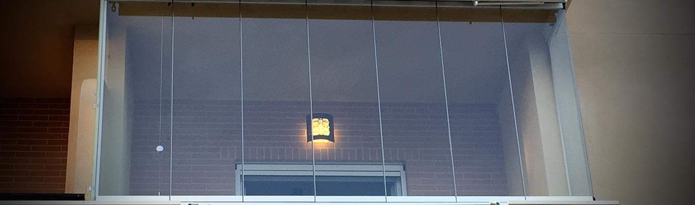 Cerramiento de balcones y terrazas