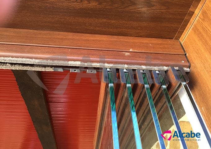 Cortina de cristal porche madera campillos m laga coproben - Porches de madera y cristal ...