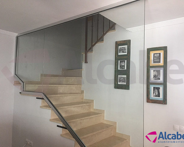 Barandas para escaleras de interior stunning beautiful gallery of with barandilla moderna with - Barandilla escalera interior ...