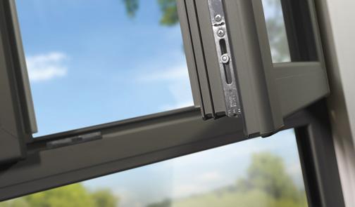 Detalle de las ventanas de PVC Omniral de Deceunink