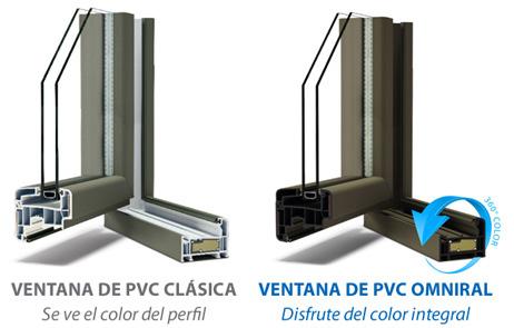 Ventanas de PVC Omniral de Deceunink