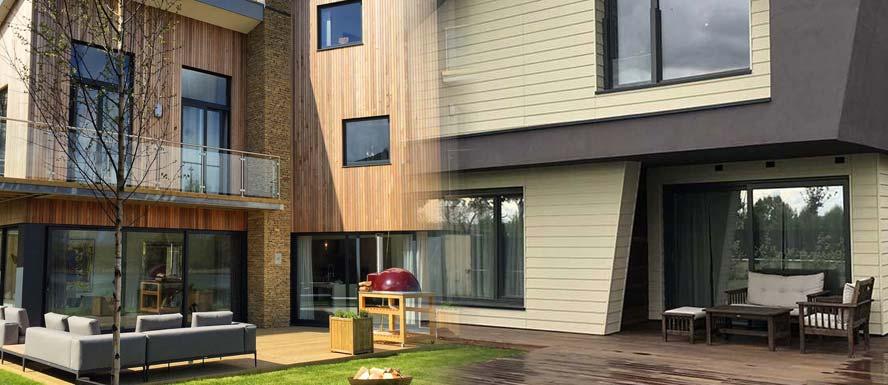 Dos tipos de viviendas Passivhaus