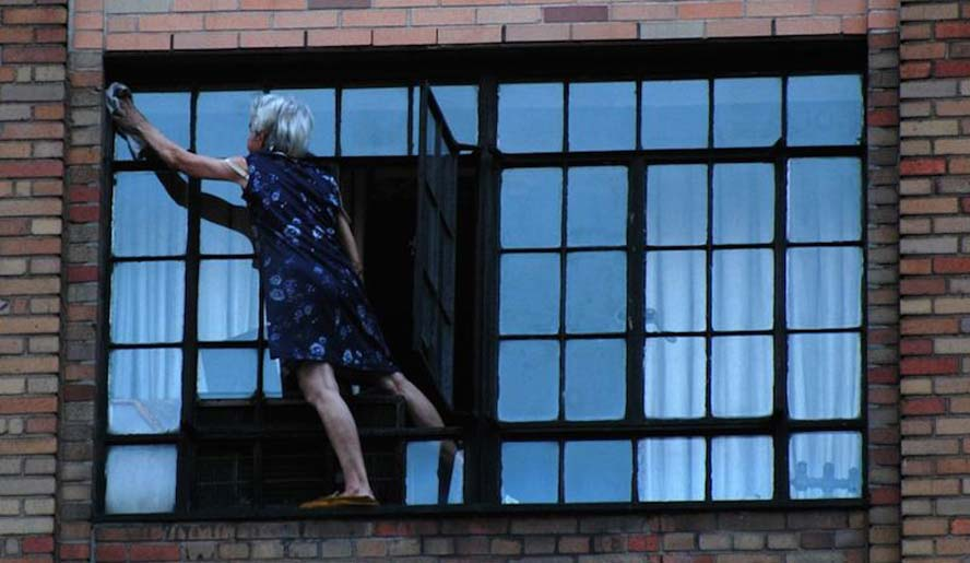 Como no limpiar nuestras ventanas nunca