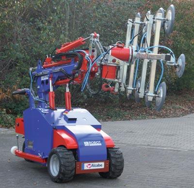 Robot Cristalero para Alquilar, con PERSONAL ESPECIALIZADO