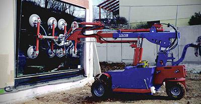 Robot Cristalero en ALQUILER, con Personal Especializado en ALCABE